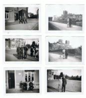 Lot De 8 Photos ( +/-  6 X 9 Cm ) SAIVE - Milicien à La Découverte De Saive En 1945, Château, Café,...  (b187) - Plaatsen
