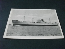 NAVE SHIP HORNFELS  HORN LINIE PIEGHE - Commercio