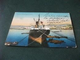 NAVE SHIP OYNTHIAN GENOVA PORTO E PANORAMA - Commercio
