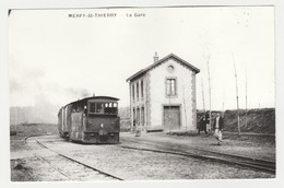 REPRODUCTION TRAIN TRAM Tramway 51 Merfy St Thierry Vers Reims La Gare - Reims