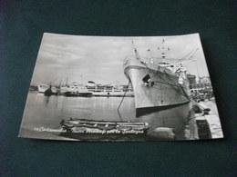 NAVE SHIP SICILIA  CIVITAVECCHIA NUOVI PIROSCAFI PER LA SARDEGNA - Piroscafi