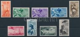 ** 1934 Labdarúgó Világbajnokság Sor Mi 479-487 - Briefmarken
