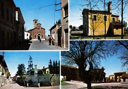 BRESCIA - Comezzano Cizzago - 4 Vedute - Chiesa - S.Rocco - Monumento Ai Caduti - Castello Gorlani - Brescia