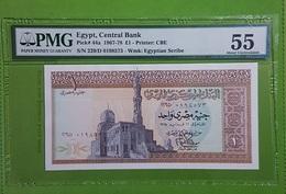 """Egypte : 1 Pond """"Sultan Al-Ashraf Qaytbay"""" PMG 55 EPQ GEM UNC - Egypte"""