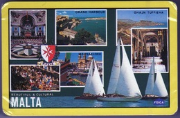 Malta Pack Of Playing Cards Showing Different Views Unopened In Mint Condition. - Playing Cards (classic)