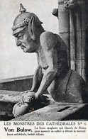 Rare Cpa Von Bulow En Gargouille De La Cathédrale De Reims - 1914-18