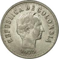 Monnaie, Colombie, 20 Centavos, 1975, TTB, Nickel Clad Steel, KM:246.1 - Colombie