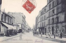 CPA - 92 - PUTEAUX - Rue De La République - Puteaux