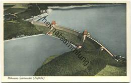 Möhnesee - Sperrmauer - Luftbild - Verlag H. Dülberg Soest - Möhnetalsperre