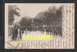 DF / 21 CÔTE D'OR / DIJON / REVUE DU 14 JUILLET , LE DRAPEAU / ANIMÉE / CIRCULÉE EN 1901 - Dijon