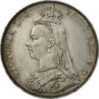 Monnaie, Grande-Bretagne, Victoria, Crown, 1889, Londres, TTB, Argent, KM:765 - 1816-1901 : Frappes XIX° S.