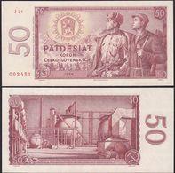 Tschechoslowakei - CZECHOSLOVAKIA 50 Korun 1964 Pick 90b UNC   (12998 - Tschechoslowakei