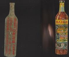 7b) GADGET PUBBLICITA' AMARO BAIRO TORINO IDEATA PER IL GIOCO DELLA BOTTIGLIA OGGETTO CON SEGNI AL FRONTE VEDI FOTO - Pubblicitari