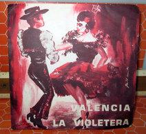 """VALENCIA LA VIOLETERA   COVER NO VINYL 45 GIRI - 7"""" - Accessori & Bustine"""