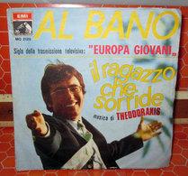 """AL BANO IL RAGAZZO CHE SORRIDE  COVER NO VINYL 45 GIRI - 7"""" - Accessoires, Pochettes & Cartons"""