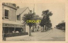 14 Ver Sur Mer, Route Conduisant à La Plage Du Paisty-Vert, Café Avec Terrasse Animée Au 1er Plan... - Other Municipalities