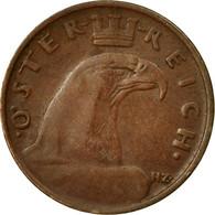 Monnaie, Autriche, Groschen, 1929, TB+, Bronze, KM:2836 - Autriche