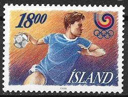 Islande 1988 N° 641 Neuf Sport, Jeux Olympiques, Handball - 1944-... Republique