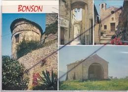 Bonzon (06) La Tour,une Vieille Rue Et Les Chapelles De Saint Antoine De Padoue Et De St. Hospice - Frankreich