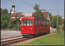 Enziger Motorwagen Der Berghan Rheineck - Walzenhausen ( RhW) - Trains