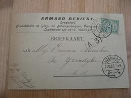 Ijzendijke Vlissingen 1907 - Brieven En Documenten