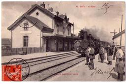 2608 - Luzy ( 58 ) - La Gare - J.C. à Autun - N°11 - - France