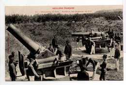 - CPA MILITAIRES - ARTILLERIE FRANCAISE - Artillerie De Cote - Batterie Des Mortiers De 270 (belle Animation) - - Equipment