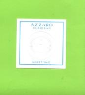 AZZARO SOLARISSIMO  MARETTIMO - Cartes Parfumées