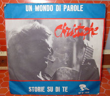 """CHRISTOPHE UN MONDO DI PAROLE AUCUN VINYLE  COVER NO VINYL 45 GIRI - 7"""" - Accessori & Bustine"""