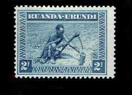 Ruanda-Urundi. OBP-COB. 1931 - N°101. *SCENES INDIGENES. ANIMAUX ET PAYSAGES. .   2F. Neuf - Ruanda-Urundi