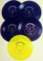 IL MUSICHIERE-5 DISCHI VARI - PINO VINCI + E. BERTUZZI + ECC. (290718) - Musique & Instruments