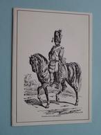 GRENADIER à Cheval ( Garde Impériale ) (binnenzijde Blanco) Anno 19?? ( Zie Foto's) ! - Militaria