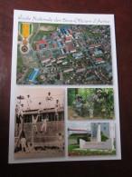 CPA SAINT MAIXENT ENSOA MEDAILLE MILITAIRE - Documents