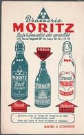 Paris Rue De Vaugirard:buvard BIERE MORITZ (PPP9399) - Liquor & Beer