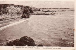 Bretignolles Sur Mer : Les Falaises à Marée Haute - Bretignolles Sur Mer