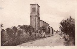 Bretignolles Sur Mer : L'église - Bretignolles Sur Mer