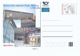 Rep. Ceca / Cart. Postali (Pre2015/47) Stazione Ferroviaria Storica In Boemia, Moravia E Slesia (1a Edizione) - Havirov - Fabbriche E Imprese
