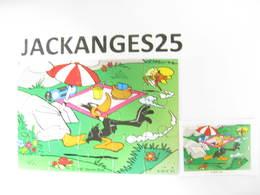 KINDER PUZZLE LOONEY TUNES K98 N 84 1997 + BPZ - Puzzles