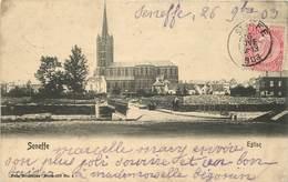 SENEFFE - L'église. - Seneffe