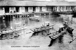 COLOMBO - Barques Indigènes - Sri Lanka (Ceylon)