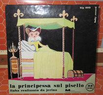 """LA PRINCIPESSA SUL PISELLO  COVER NO VINYL 45 GIRI - 7"""" - Accessoires, Pochettes & Cartons"""