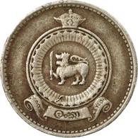 Monnaie, Ceylon, Elizabeth II, 25 Cents, 1971, TB+, Copper-nickel, KM:131 - Sri Lanka