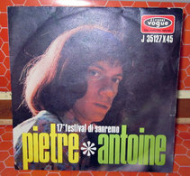 """ANTOINE PIETRE  AUCUN VINYLE  COVER NO VINYL 45 GIRI - 7"""" - Accessoires, Pochettes & Cartons"""