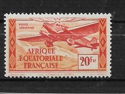 Colonie Timbres D'AEF PA N°40 Variétée Sans RF (coin Inférieur Droit) Neuf ** - A.E.F. (1936-1958)