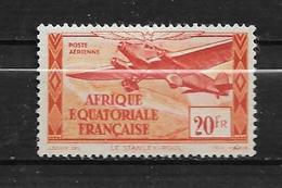 Colonie Timbres D'AEF PA N°40 Variétée Sans RF (coin Inférieur Droit) Neuf * - A.E.F. (1936-1958)