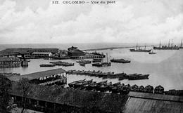 COLOMBO - Vue Du Port - Sri Lanka (Ceylon)
