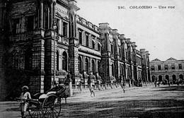COLOMBO - Une Rue - Sri Lanka (Ceylon)