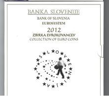 SLOVENIE EUROMUNTEN BU-set 2012 -  VOLLEDIGE REEKS + 3 EURO - Slovénie