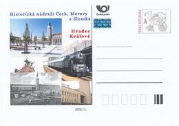Rep. Ceca / Cart. Postali (Pre2015/49) Stazione Ferroviaria Storica In Boemia, Moravia E Slesia - Hradec Kralove - Fabbriche E Imprese