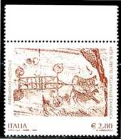 ITALIA / ITALIA 2009** - UNESCO - Valle Camonica - 1 Val. MNH (Alto Valore) Come Da Scansione. - UNESCO